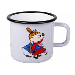 Moomin RETRO Little My Enamel Mug 3,7 dl