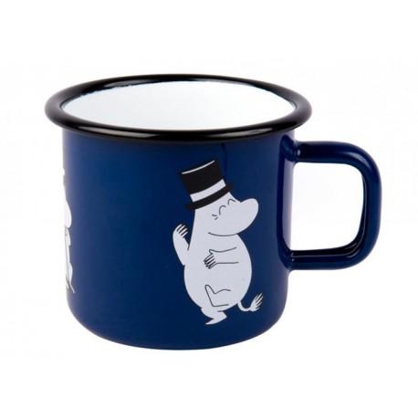 Moomin RETRO Moominpappa Enamel Mug 3,7 dl