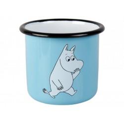 Moomin RETRO Light Blue Enamel Mug 3,7 dl