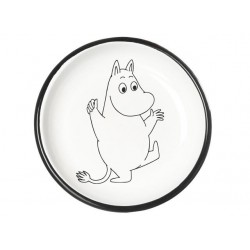 Moomin RETRO Light Blue Enamel Plate 18cm