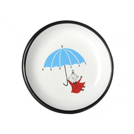 Moomin COLORS Little My Enamel Plate 18cm