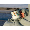 Pippi Longstocking Winter Enamel Mug 3,7 dl