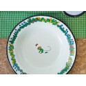 Pippi Longstocking Mr Nilsson Enamel Plate 22cm