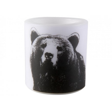Muurla NORDIC Table Candle Bear 8 cm
