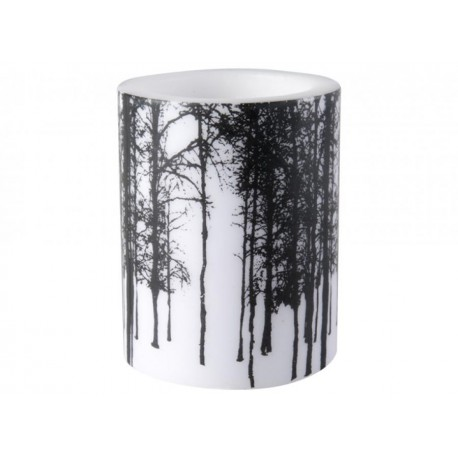Muurla NORDIC Table Candle Forest 8 cm