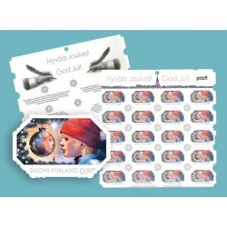 Reflection 0,80€ stamp x20 FINLAND SUOMI 2015