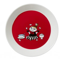 Moomin Plate Red Little My 2016 19cm
