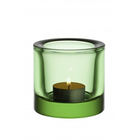 Iittala FINLAND Kivi Votive apple green