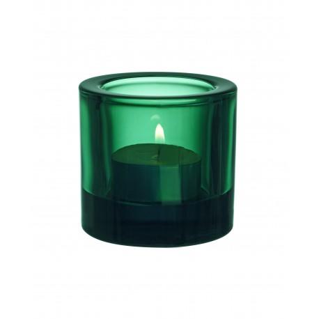 Iittala FINLAND Kivi Votive emerald