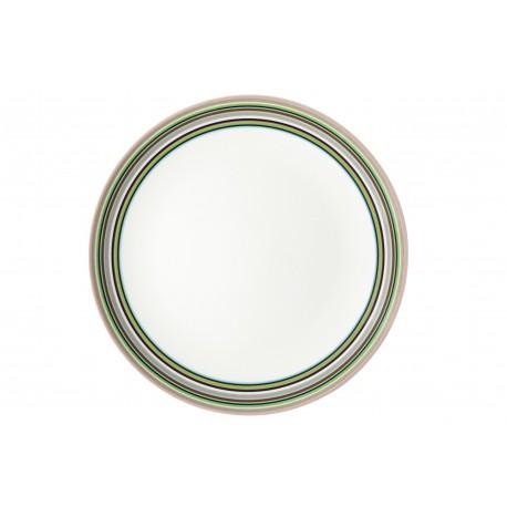 IITTALA Origo Beige Plate 26 cm FINLAND