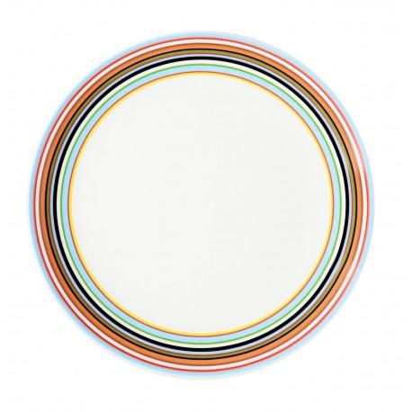 IITTALA Origo Orange Plate 20 cm FINLAND