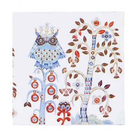 IITTALA Taika White Serviette Napkins 33 x 33 cm