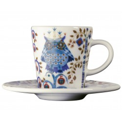 IITTALA Taika Espresso Cup 0,1 L and Saucer 11 cm white