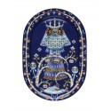 IITTALA Taika Serving plate 41 cm blue