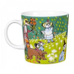 Moomin Mug Glasses Tove's Jubilee 100 Years Anniversary Celeb (2014)