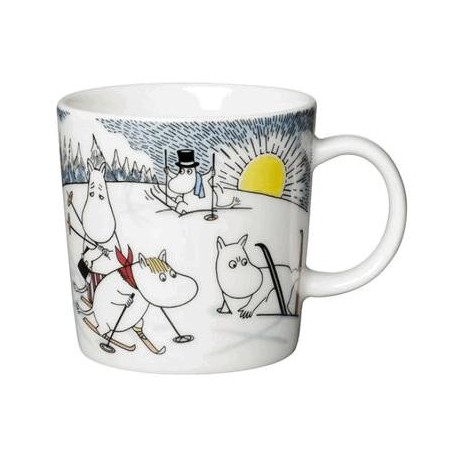 Moomin Mug Skiing With Mr. Brisk (2014)