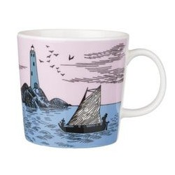 Moomin Mug Night Sailing 2010 Arabia Finland Unused with original tags!