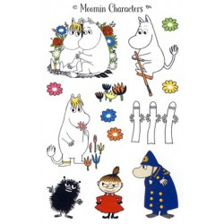 Moomin Characters Stickers 350791