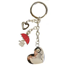 Moomin Keyring Little My