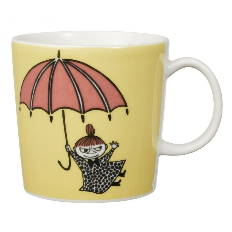 Moomin Mug Yellow Little My (2008-2015)