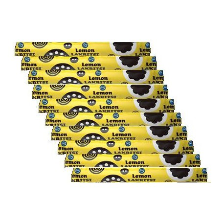 Lemon Liquorice 20 g filled liquorice x 10 pcs