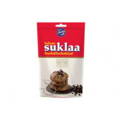Taloussuklaa Crush 120g dark choco crush