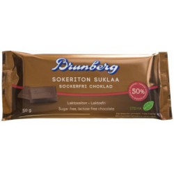 Brunberg Sugar free chocolate 50g