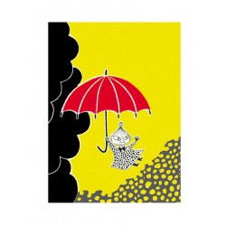 Moomin Poster Little My 24x30 cm
