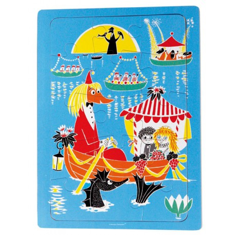 Moomin Wooden Framepuzzle 30x22,5 cm