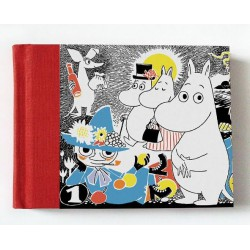 Moomin hard cover Notebook 20,5x16,5 cm