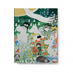 Moomin hard cover Notebook Dangerous Journey 20,5x16,5 cm