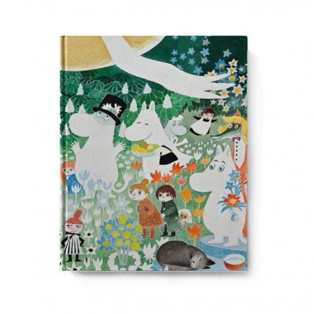 Moomin hard cover Notebook Dangerous Journey 20,5x16,5 cm