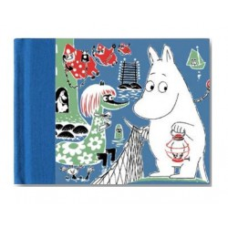 Moomin hard cover Notebook Comic 20,5x16,5 cm