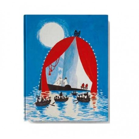 Moomin hard cover Notebook Comic 2 20,5x16,5 cm