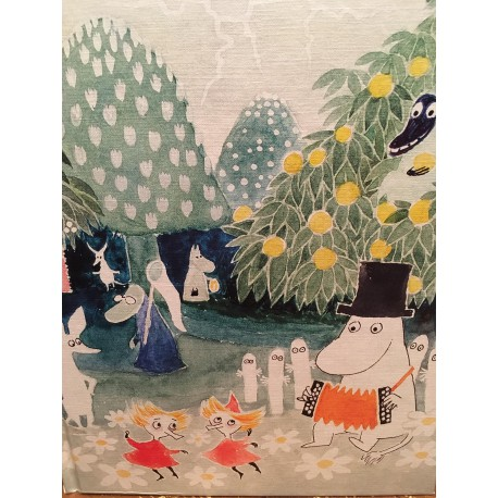 Moomin hard cover Notebook 2 20,5x16,5 cm