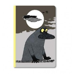 Moomin Exercise Notebook Groke 18x25,5 cm