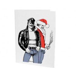 Tom of Finland Christmas 2 Card with envelope