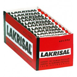 Lakrisal 25g licorice pastillies 40pcs