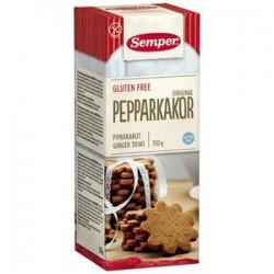 Semper Gluten-free Original Gingerbread cookies 150g
