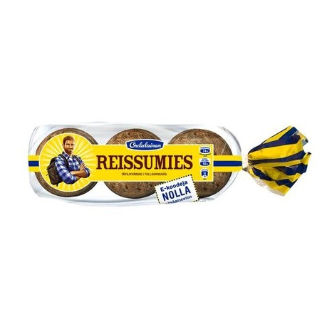 Oululaisen Reissumies whole rye bread 705g