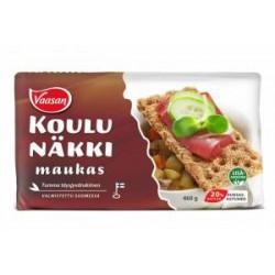 Vaasan Koulunäkki Maukas Full grain rye crisp 375g