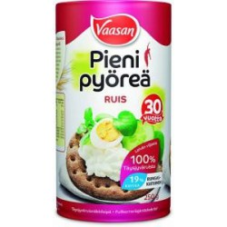 Vaasan Pieni Pyöreä Rye thick crisp bread 250 g