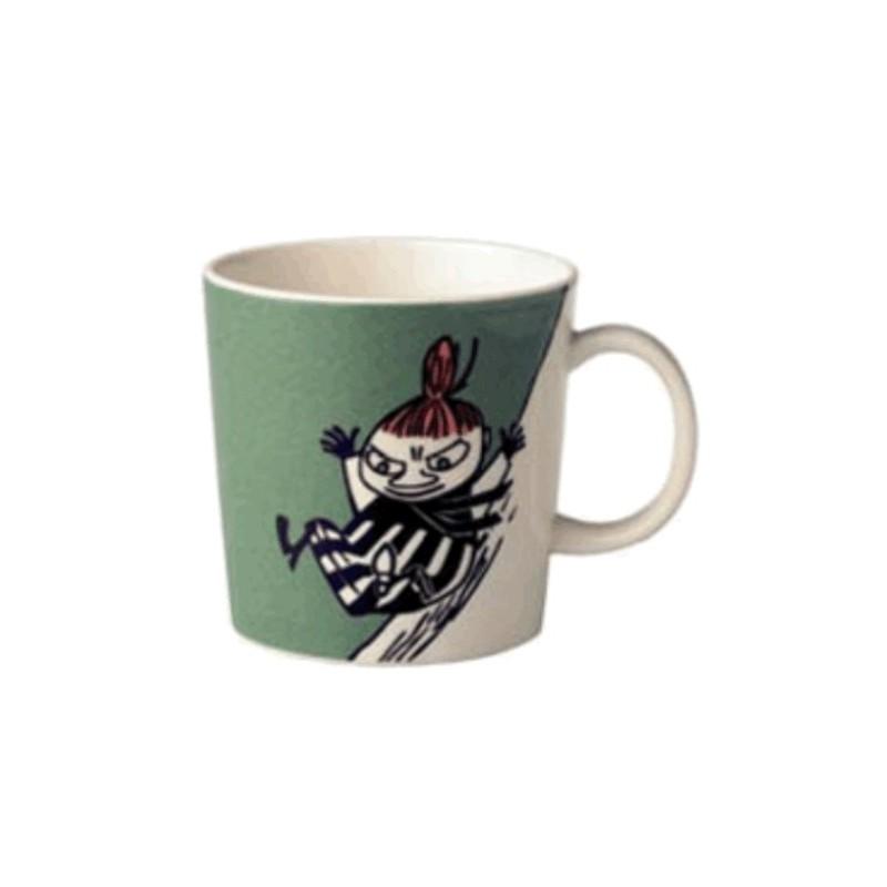 Arabia Moomin Mug Little My Green