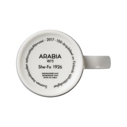 Arabia Finland 100 mug SHE-FO 1926 Limited
