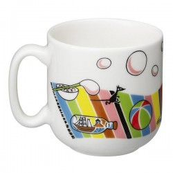 Arabia Moomin Child Set Plate and Mug Moomintroll
