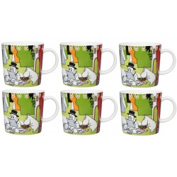 Moomin Mug Summer Theater 6-pack