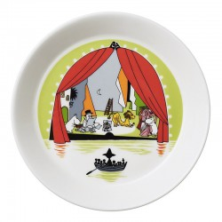 Moomin Plate Summer Theater 0,3L
