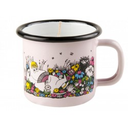 Muurla Moomin Enamel candle 1,5dl / 20h Shared Moment