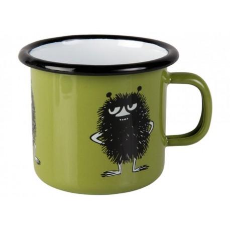 Moomin RETRO Stinky Enamel Mug 2,5 dl