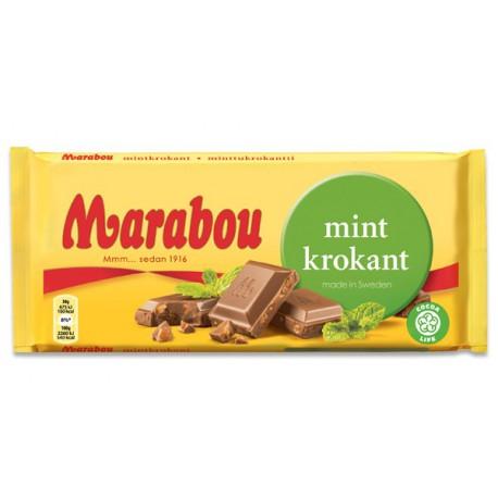 Marabou Mint Krokant 200g